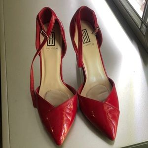 Red Color Signature Shoes